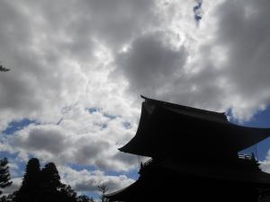 阿蘇神社 空 雲