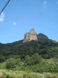 不動岩(山鹿市)