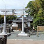 苦竹年禰神社(大津町)
