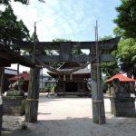 中島日吉神社(大津町)