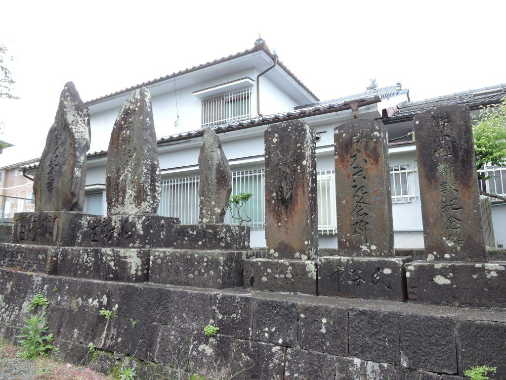 記念碑:桑坂神社(山鹿市)