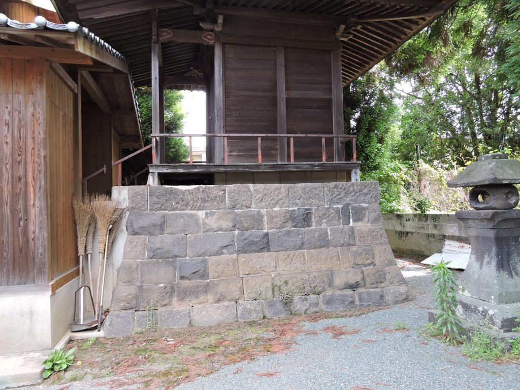 本殿 桑坂神社(山鹿市)