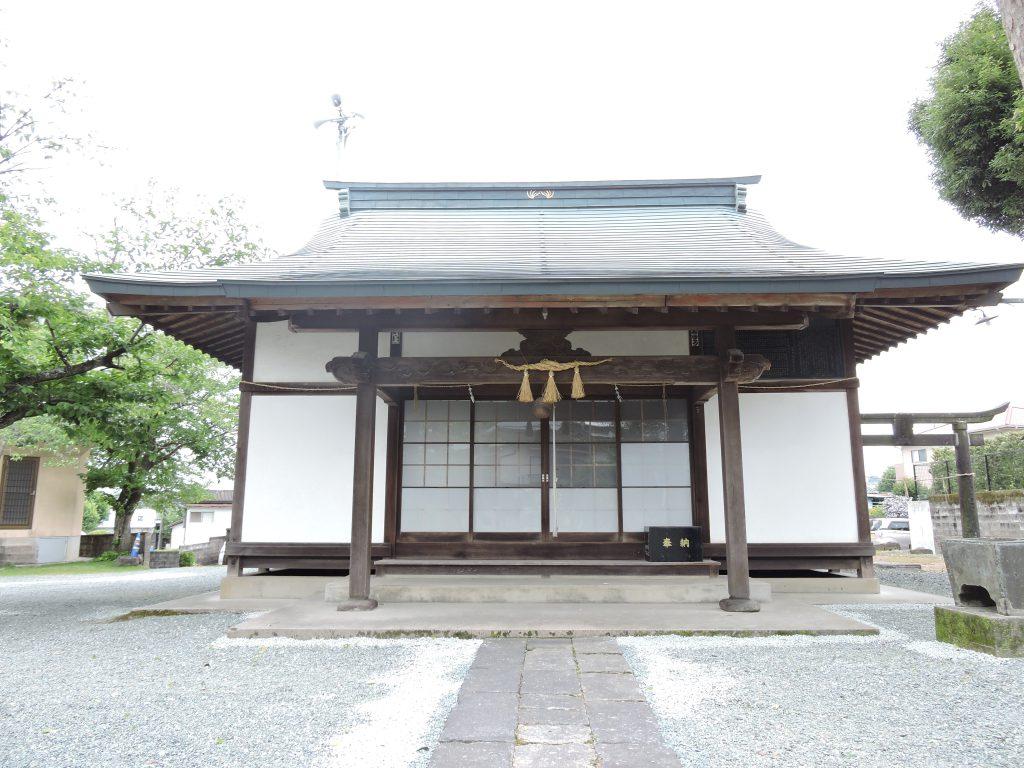 拝殿:東原稲荷神社(山鹿市)