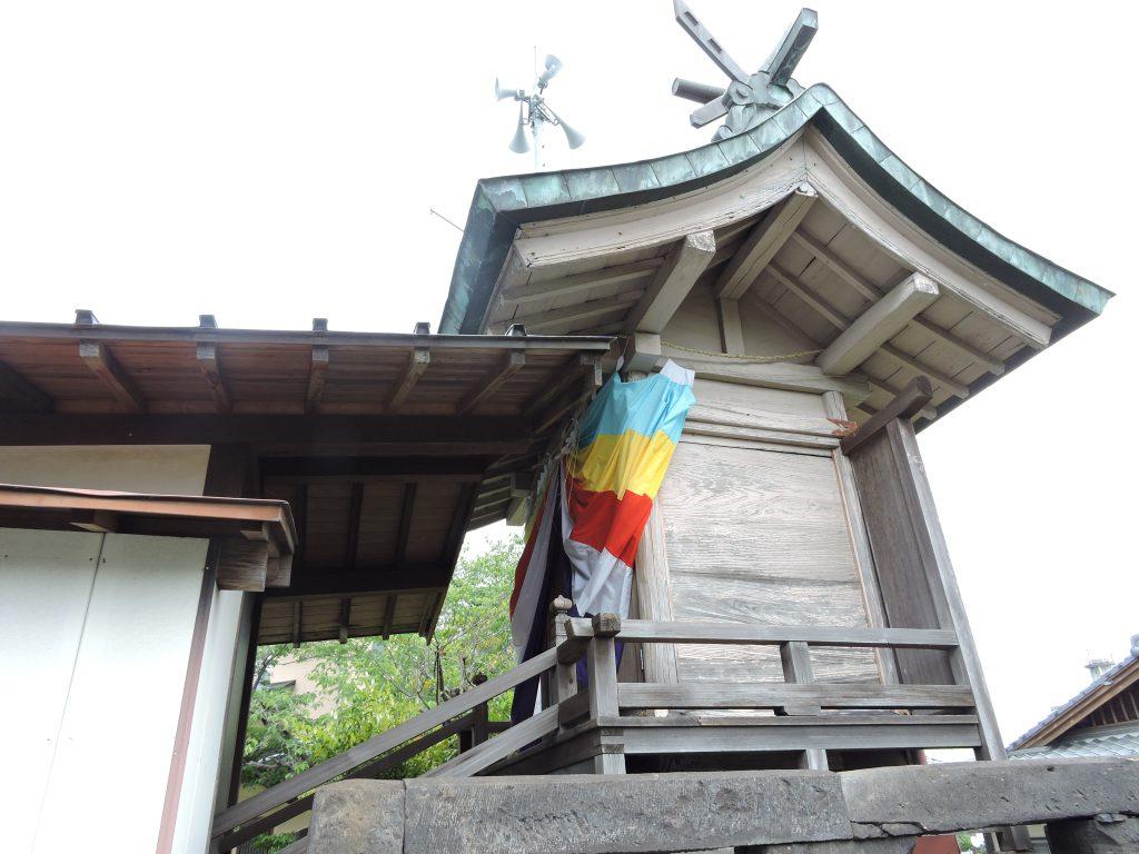 本殿:東原稲荷神社(山鹿市)