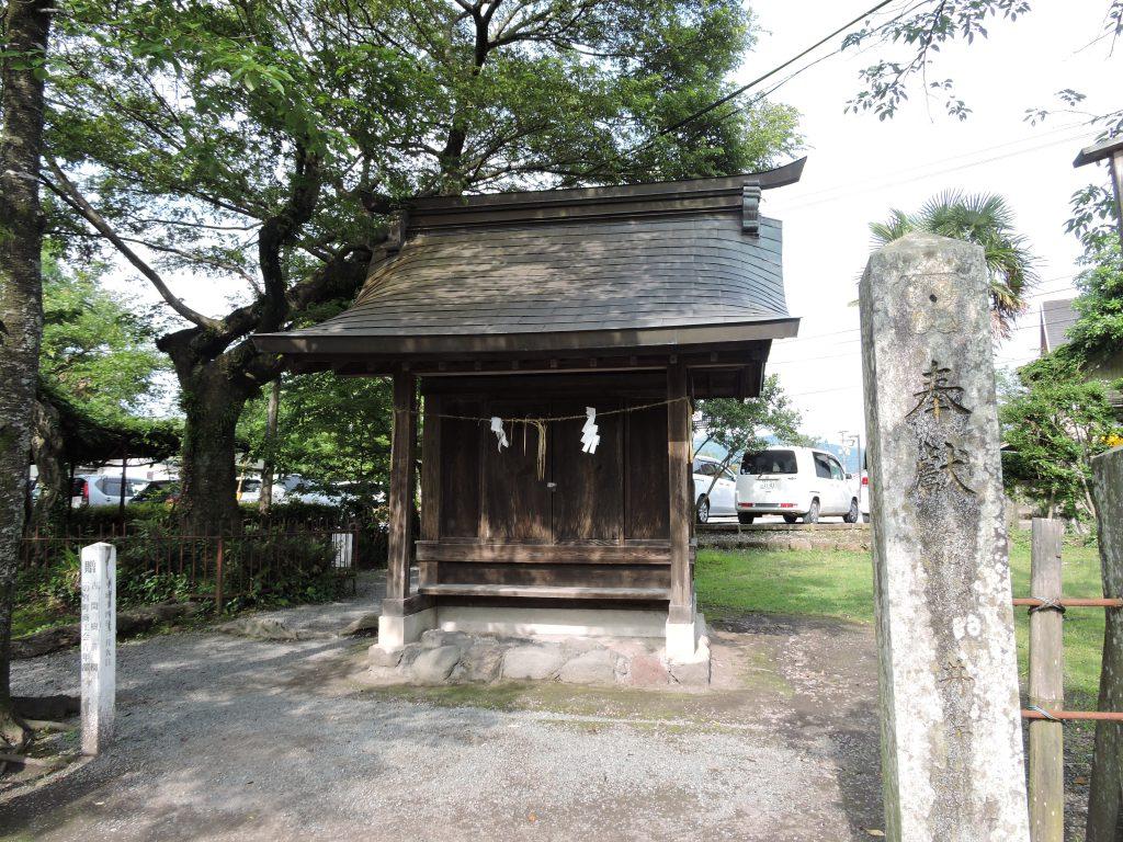 阿蘇神社(阿蘇市)南門守社