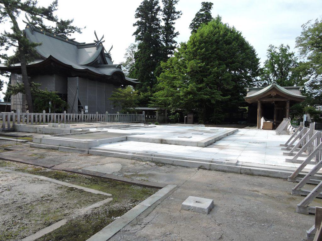 阿蘇神社(阿蘇市)拝殿
