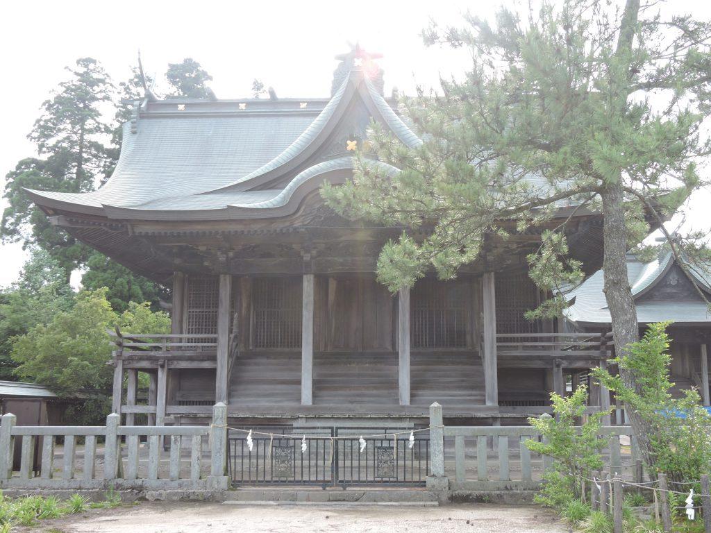 阿蘇神社(阿蘇市)一の神殿