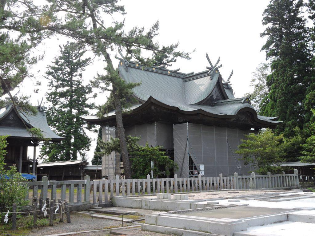 阿蘇神社(阿蘇市)二の神殿