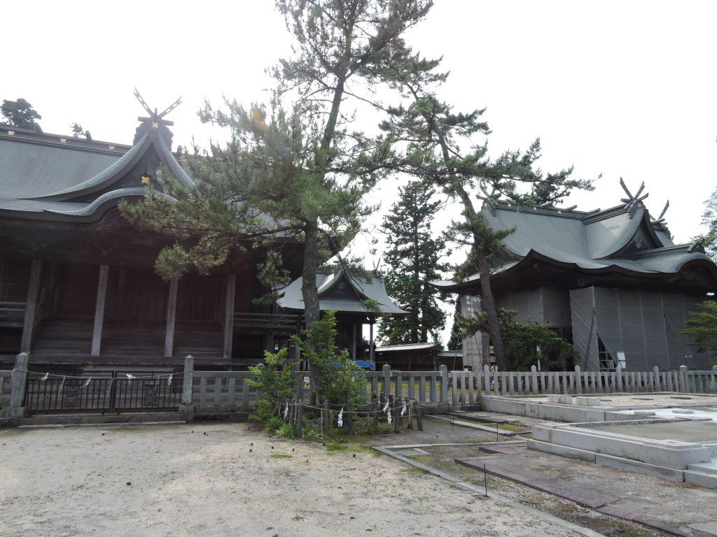 阿蘇神社(阿蘇市)神殿
