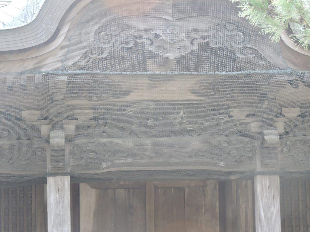 阿蘇神社(阿蘇市)神殿彫刻
