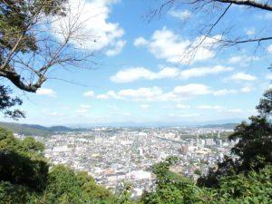 花岡山からの眺め