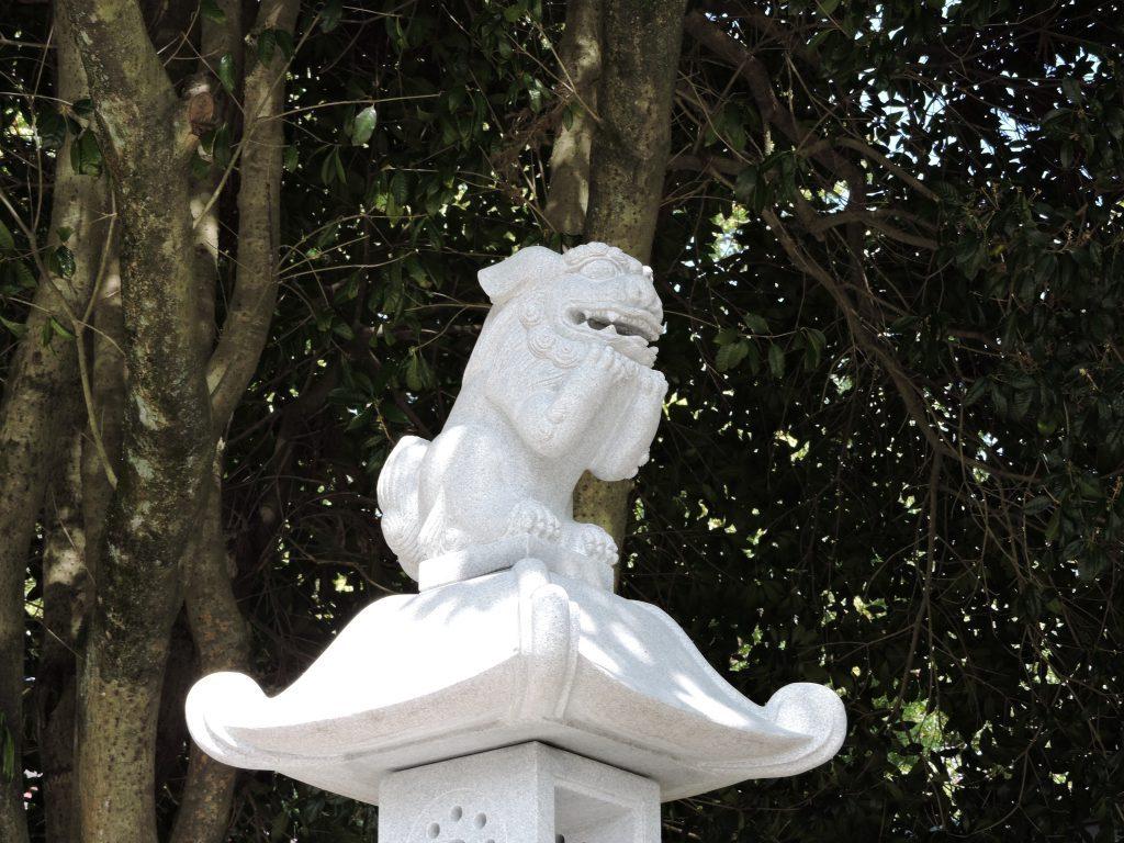 出水神社・狛犬