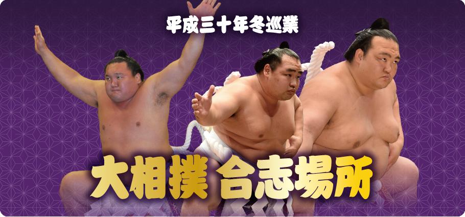 平成三十年冬巡業 大相撲 合志場所
