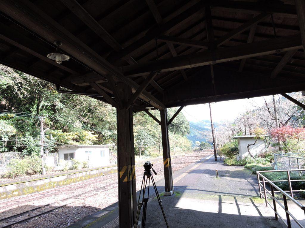 肥薩線白石駅(芦北町)