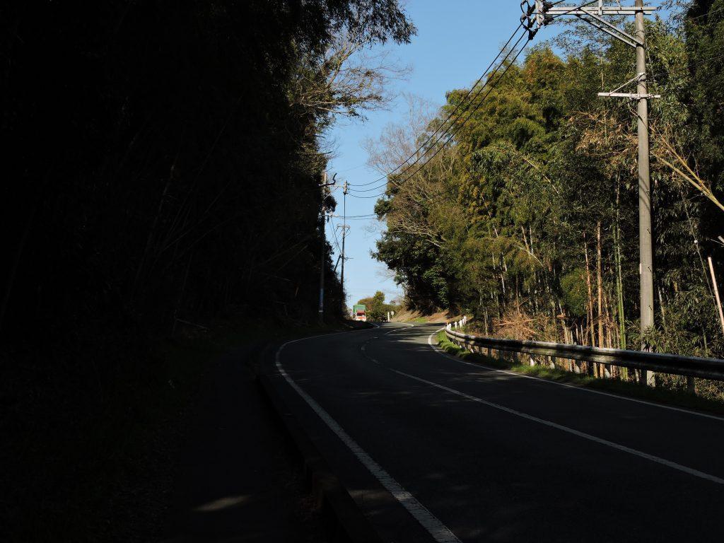 熊本市東区鳥越峠