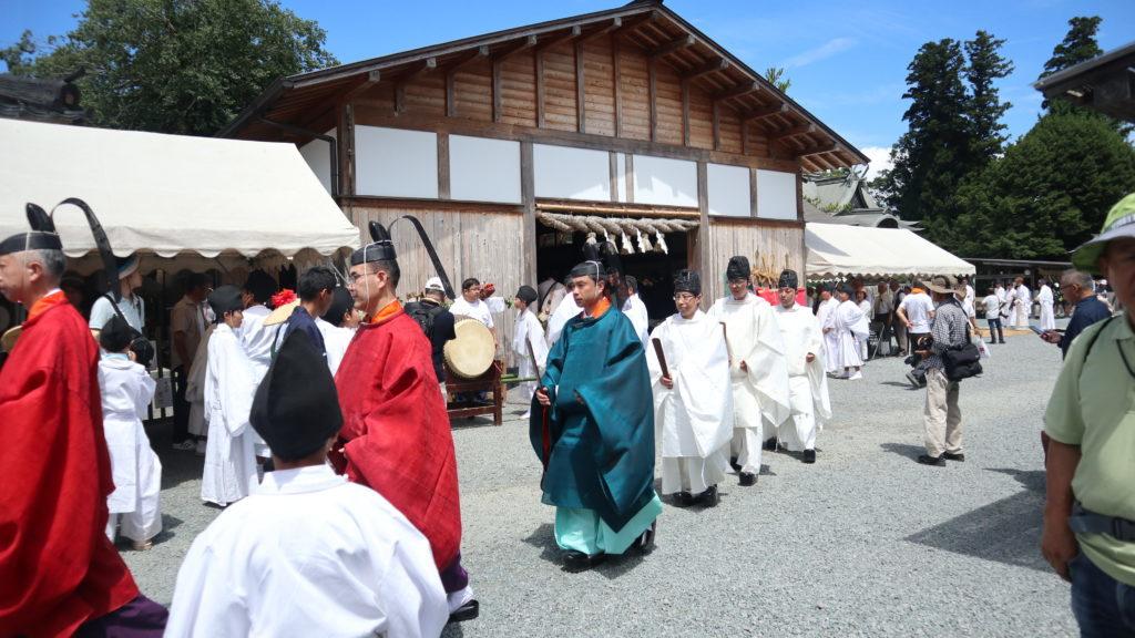 阿蘇神社(令和元年)の神職