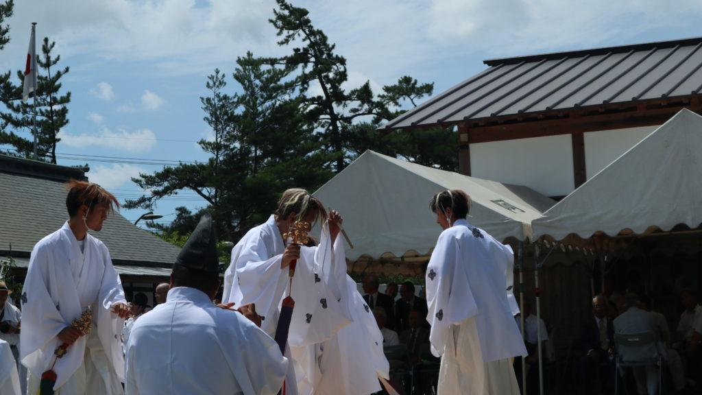 阿蘇神社(令和元年・おんだ祭)お神楽奉納
