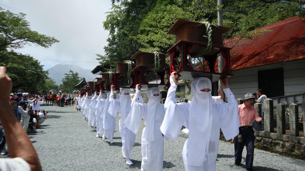 阿蘇神社御田植神幸式令和元年