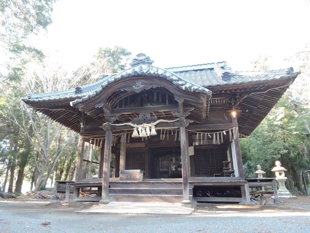 上宮社(長嶺阿蘇神社)