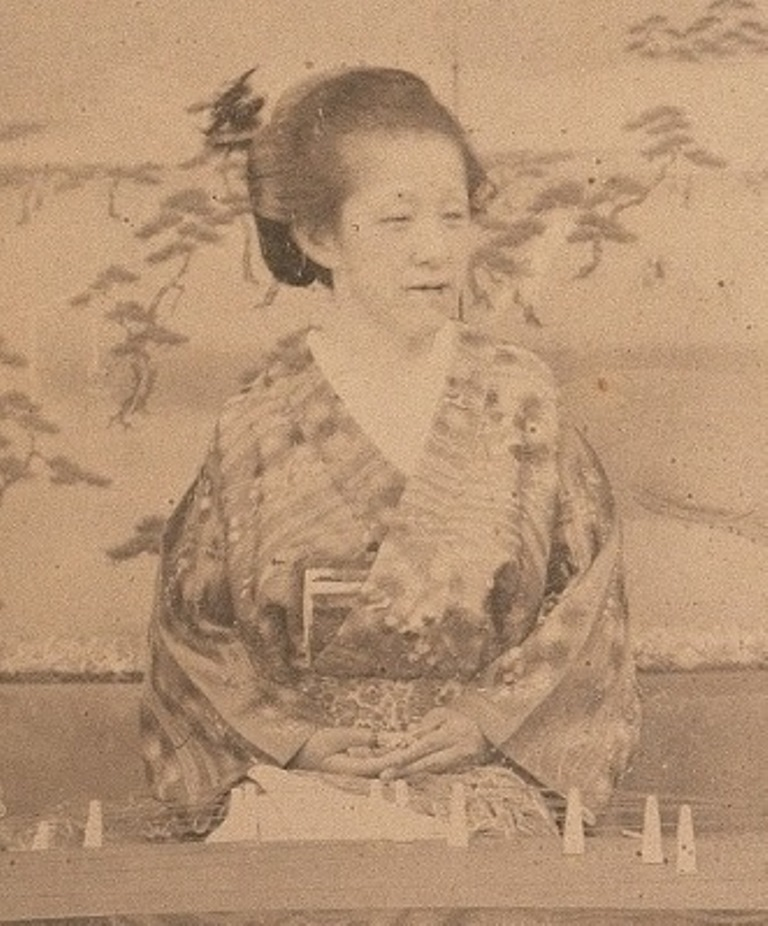 松平春嶽夫人勇姫肖像写真