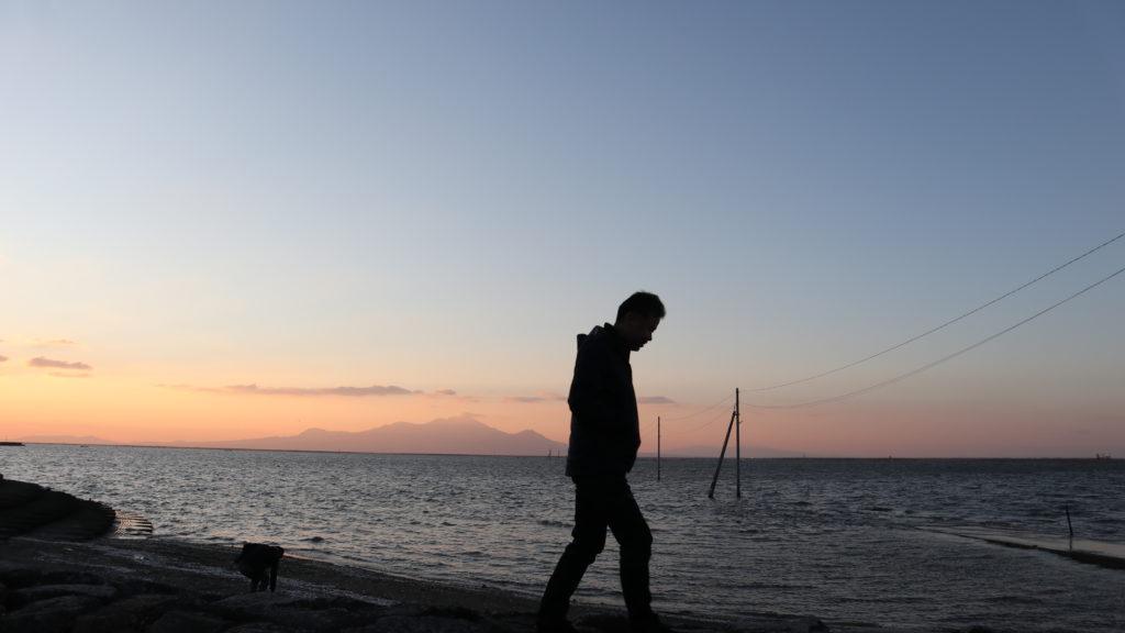 長部田海床路(宇土市)永尾劔神社(令和元年12月7日)