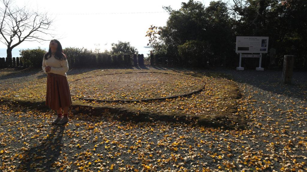 永尾劔神社(宇城市・不知火)海の鳥居