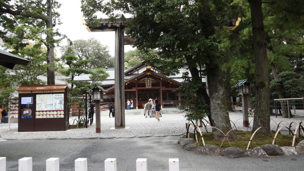 猿田彦神社(三重県:令和元年10月)