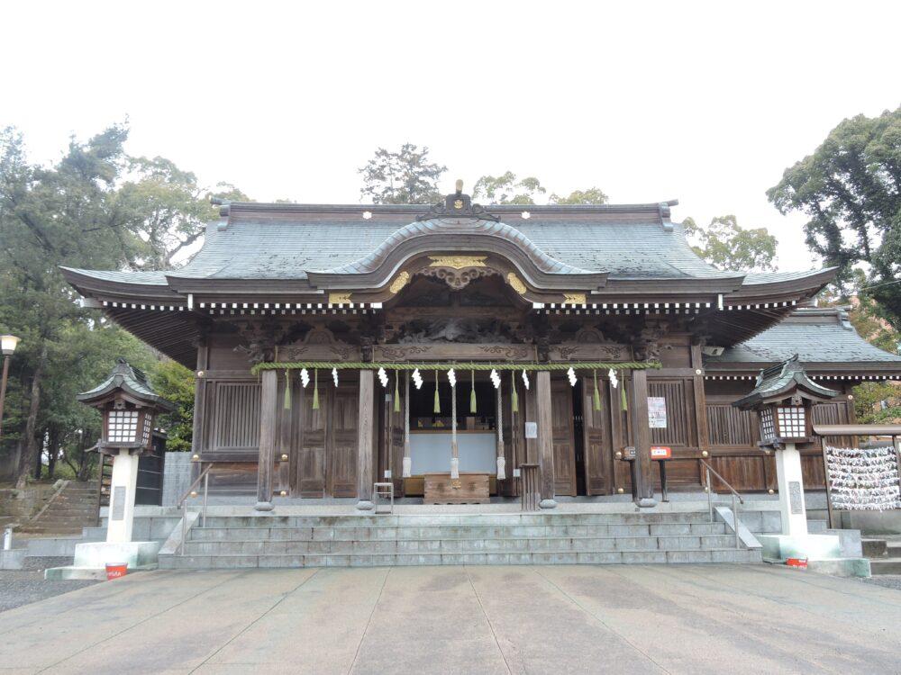 繁根木八幡宮 拝殿